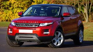 suv range rover red range rover suv free image peakpx