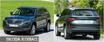 first audi ever made new skoda kodiaq u2013 company u0027s first ever seven seater suv launched