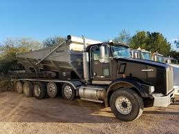 kenworth truck bedding gravel shooters gravel rock and landscaping materials phoenix