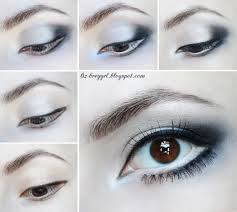 eye enlarging makeup tutorial step by step maquillaje ojos