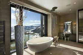 amazing bathroom designs amazing bathroom design projects with mountain views
