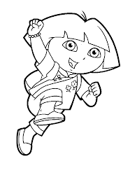 dora coloring pages printable for kids bratz u0027 blog