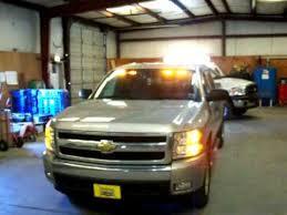 strobe light installation truck chevy silverado with strobe kit and phantom led lights youtube