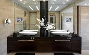 Frameless Bathroom Mirror Large Mirror Design Ideas Framed Light Bathroom Mirrors Large Fixture