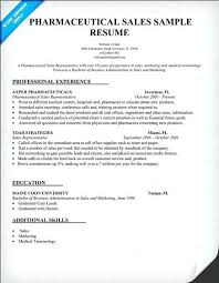 Sample Resume For Sales Position Sample Pharmaceutical Resume Environmental Health Safety Sample