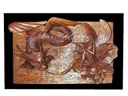 second marketplace wood carving 3d