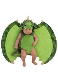 Baby Boy Costumes Halloween Infant Darling Dragon Swaddle Wings