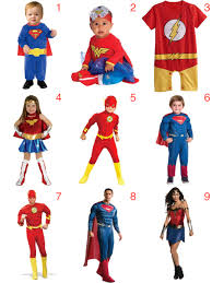 Superhero Family Halloween Costumes Halloween Costume For Family Justice League One Awesome Momma