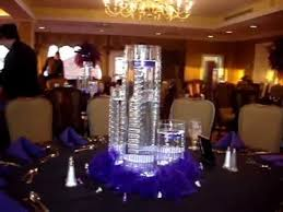 sweet sixteen centerpieces floating candle centerpieces in purple by sweet 16 candelabras