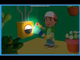 handy manny flicker lights game