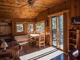 Log Dining Room Table by Cozy Comfortable Cabin In Glen Haven Vrbo