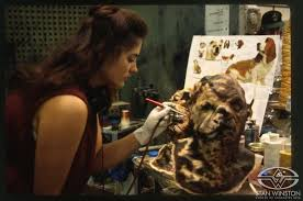makeup artist on island the island of dr moreau the at stan winston studio