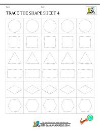 tracing worksheets for kindergarten free worksheets library