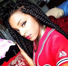 how to pack natural hair printrest the big box braids is the most popular one to be chosen by woman