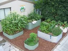 australian made corrugated steel raised beds u2014 city farmer news