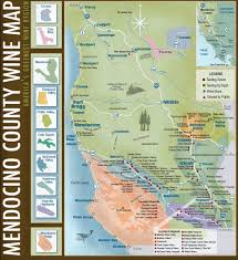 California Wine Country Map Mendocino County North Coast Wines And Vinyards