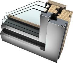 Finestra Vasistas Dwg by Finestre In Legno Alluminio Hf 410 Internorm It