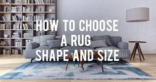 How To Pick A Rug How To Choose A Rug Shape And Size Rc Willey Blog