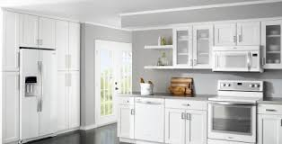 Kitchen White Cabinets Black Appliances White Kitchens With Black Appliances Kitchen Crafters