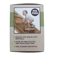 steady treads set of pvc free non slip adhesive stair treads