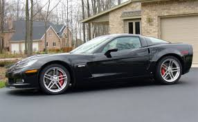 09 corvette z06 iihs study reports corvette convertible and z06 lowest for
