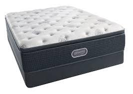 King Size Bed Dimensions Height Beautyrest Silver Navy Pier Plush Queen Pillowtop Mattress
