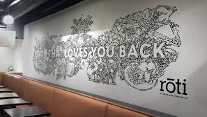 modern mural roti modern mediterranean food that loves you back mural artwork