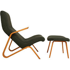 Ottoman Sale Vintage Grasshopper Chair And Ottoman By Eero Saarinen For Knoll