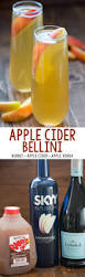 apple martini mix apple cider bellini only 3 easy ingredients to the perfect fall