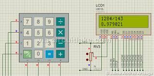 Truth Table Calculator Avr Based Basic Calculator Microcontroller Project Circuit