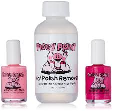 amazon com piggy paint non toxic girls nail polish kit safe