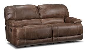 leons furniture kitchener durango reclining sofa saddle brown leon u0027s