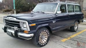 jeep grand wagoneer wagoneer 1986 amc jeep grand wagoneer special order