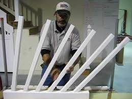 How To Build A Banister On A Staircase Ask Southern Part 1 Of 3 How To Install A Stair Rail System