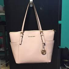 Michael Kors Bags Light Pink Jet Set Tote Purse Poshmark