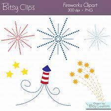 fuochi d artificio clipart fuochi d artificio clipart digitale arte set