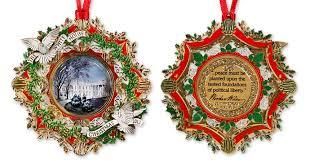 white house ornament ves pta