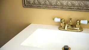 how to replace bathroom sink faucets bold ideas install new