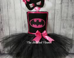 Batgirl Halloween Costume Accessories Pink Batman Costume Etsy