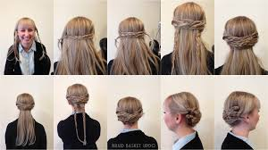 Two Ear Hairstyle | braiding two braids both sides your head just above ears medium