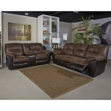 Ashley Reclining Loveseat With Console Reclining Sofas Living Room Furniture Mattress Fresno Ca 93721