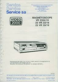 100 salon owner manual philips vr2334 23vr33 service manual