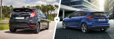 ford fiesta vs focus which is best carwow