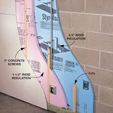 a better way to insulate and finish basement walls insulating is