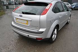 ford focus titanium silver ford focus 07 reg 1 8l 5 door titanium rear bumper in silver paint