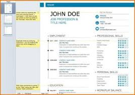 resume template free printable templates creative in microsoft