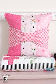 Pillow Designs by Bow Tie Pillow Sewing Pattern The Polka Dot Chair