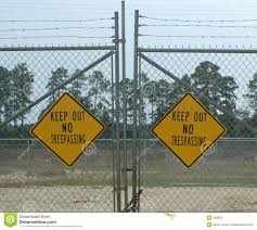 keep out signs stock vector image 39817609