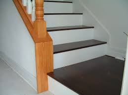 laminate flooring on stairs front and side bull nose laminate