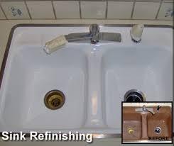 Allen Company Of Portland  For Custom Refinish Reglaze Resurface - Kitchen sink refinishing